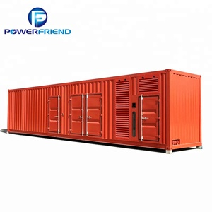 800kw Container Type Three Phases Water Cooling Diesel Generator Royal power generator