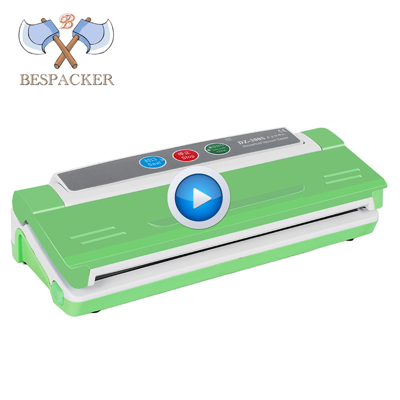 Bespacker DZ-300S New model household mini table top food vacuum packaging sealer machine