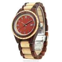 Wholesale cheap wood watch custom men wrist watch bulk buy from china