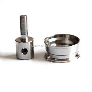 OEM stainless steel cnc metal turned parts lathe machine parts