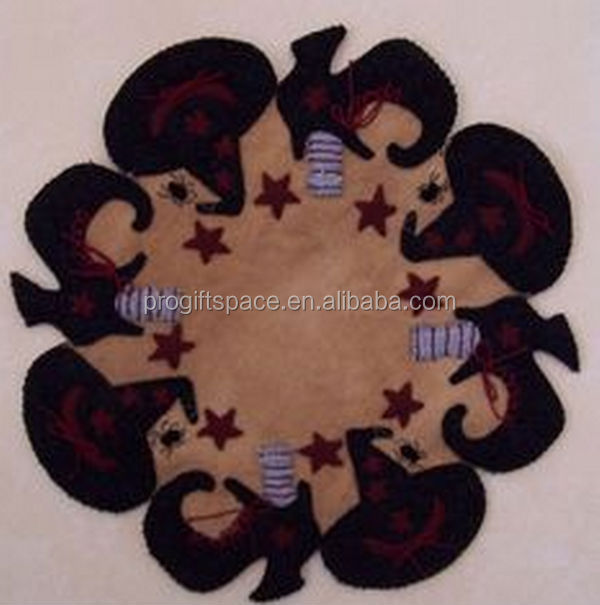 hot trendy high quality and eco friendly new products felt wholesale mat on alibaba express made in china for halloween