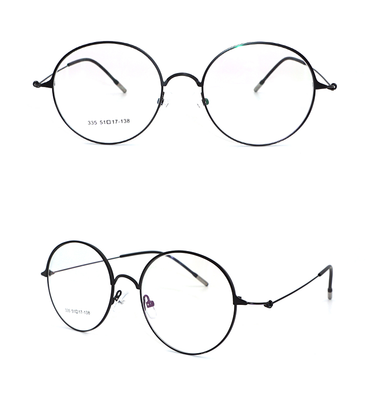 6772c6d784 2018 New Arrivals Fashion Round Thin Metal Frame Glasses - Buy Metal ...