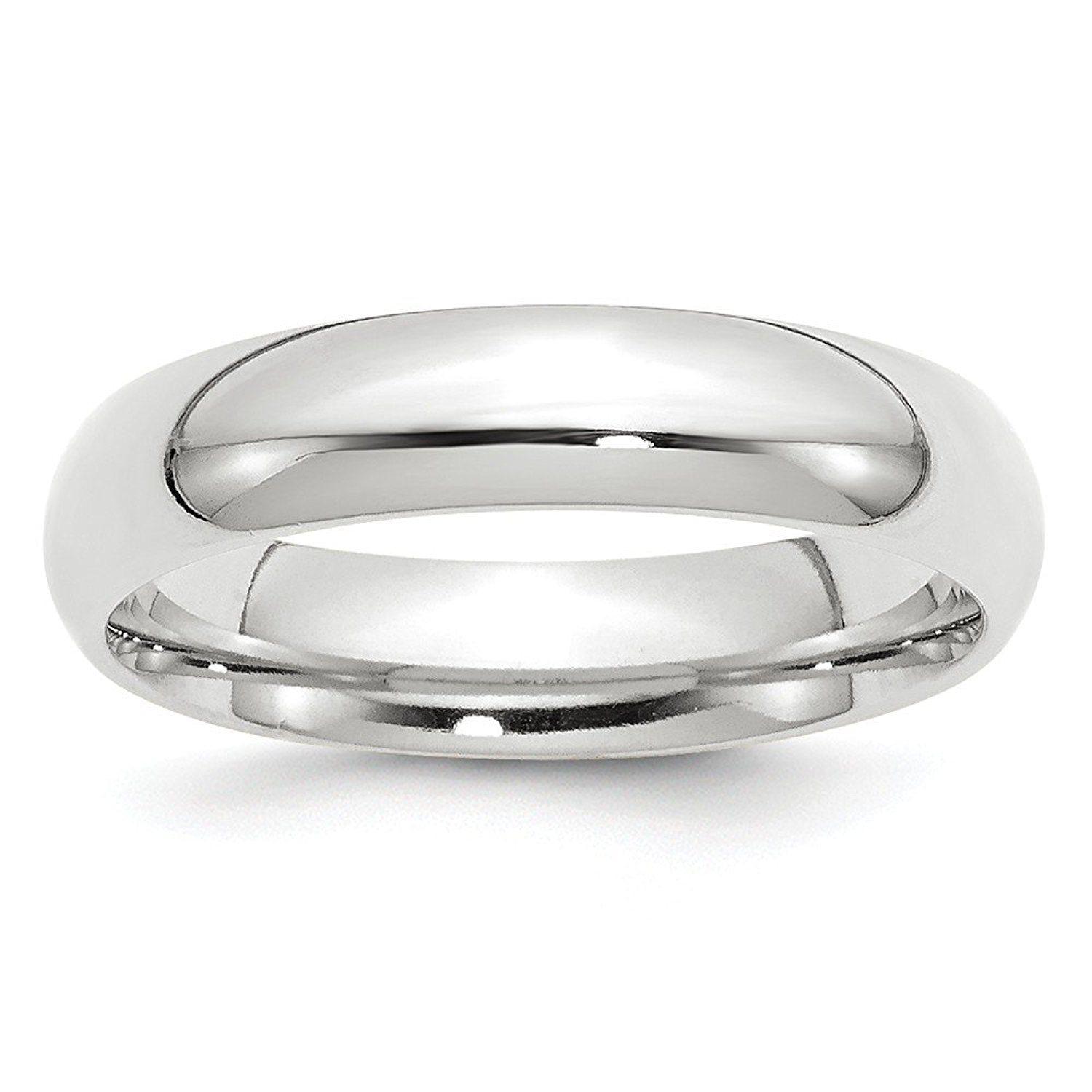 Top 10 Jewelry Gift 10KW 5mm Standard Comfort Fit Band Size 8