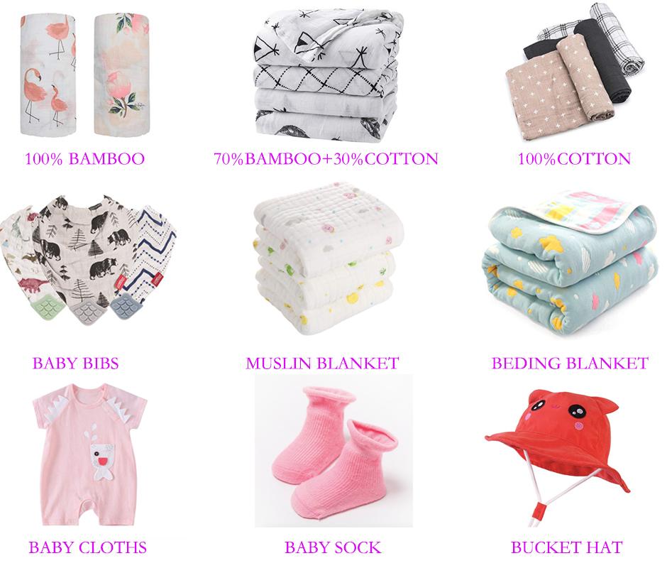 100% ผ้าฝ้ายผ้าพันคอเด็ก Bandana Drool Bibs สำหรับเด็กชายและเด็กหญิง 6 Pack Soft Muslin ทารก Bibs กับ Snaps