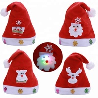 Gorro Navidad Christmas Hats Adult Christmas Cap Santa Hat Kerst Decorative New Year Decoration Noel Christmas Decoration