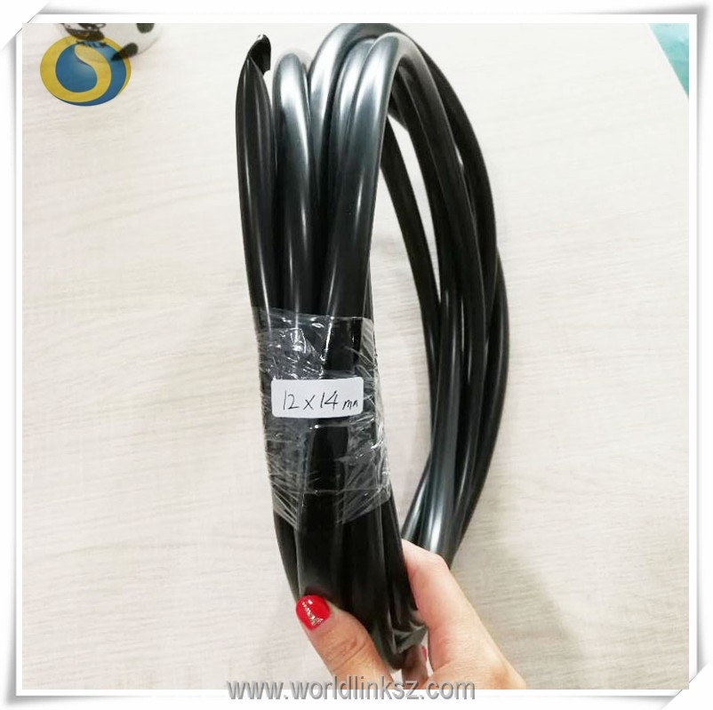 Coloful electric wire cable Flexible pvc pipe hose 2mm