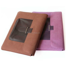 High impact resistance leather laptop cover case for Macbook Pro
