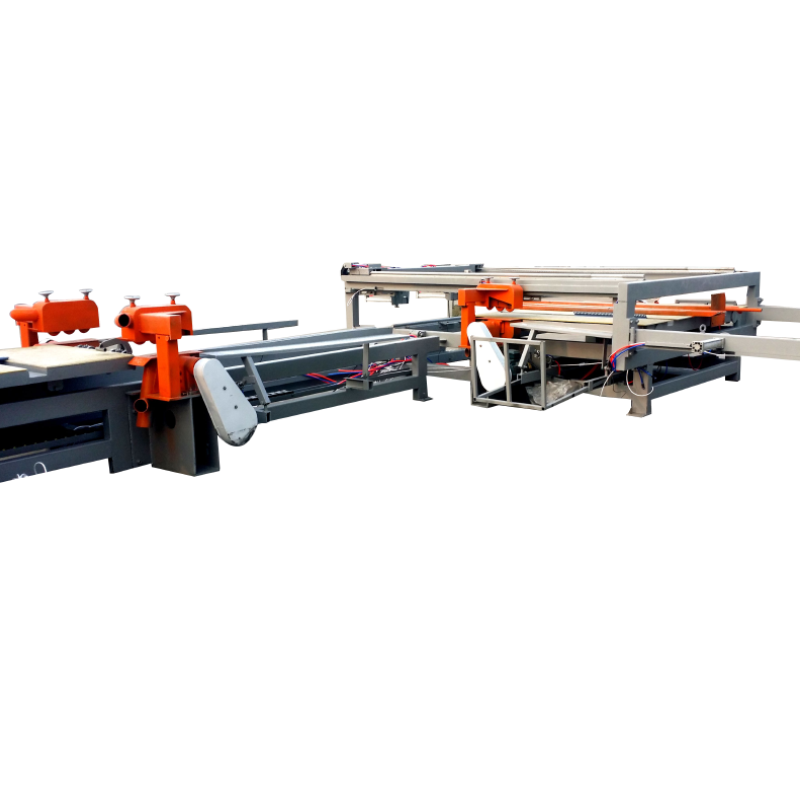 Infrared Location Wood Edge Saw Cutting Machine