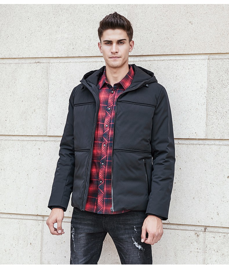 e4b9b6b71e0 2019 Pioneer Camp New Fashion Winter Down Jacket Coat Men Brand ...