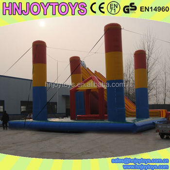 High quality inflatable bungee trampoline,bungee jumping for sale