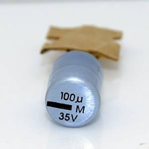 15pcs Matsushita FC 100uF//35V Audio Electrolytic Capacitor-5668