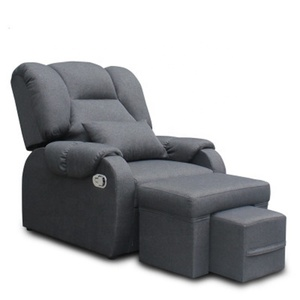2019 Hot Selling Beauty Facial Bed Chair Black Nail Sofa pedicure sofa for Hotel