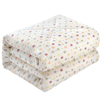 Professional Manufacturer Queen King Size Cotton Quilt Bed Quilt 2KG