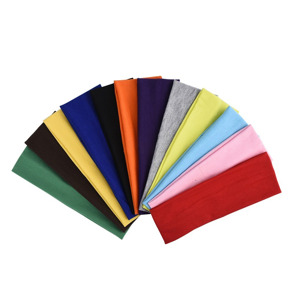 customized sport spandex yoga hair headband AY002