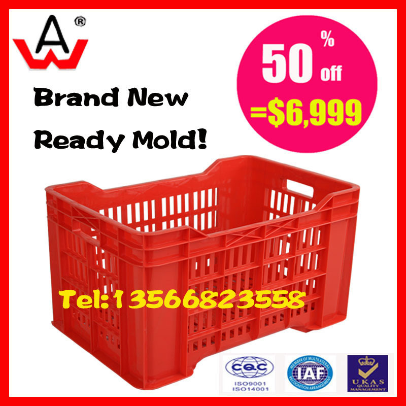 plastic <strong>injection</strong> crate second hand mould for sale