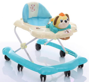 2016 fashion model baby walker with music and rocker china factory baby walker