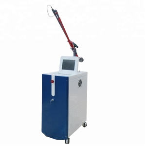 rf fractional laser machine for face and neck wrinkle removal and with yag laser for tattoo and unwanted hair removal