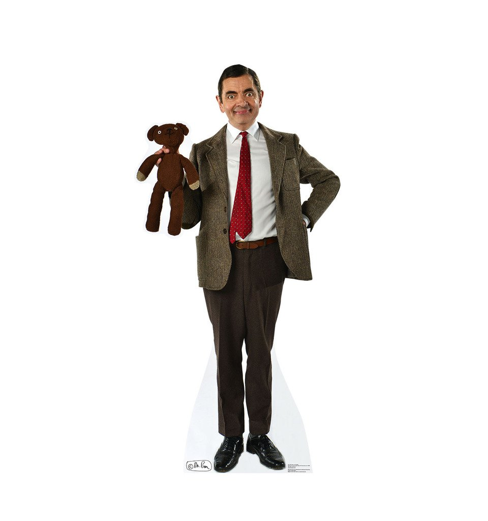 Mr. Bean & Teddy - Advanced Graphics Life Size Cardboard Standup