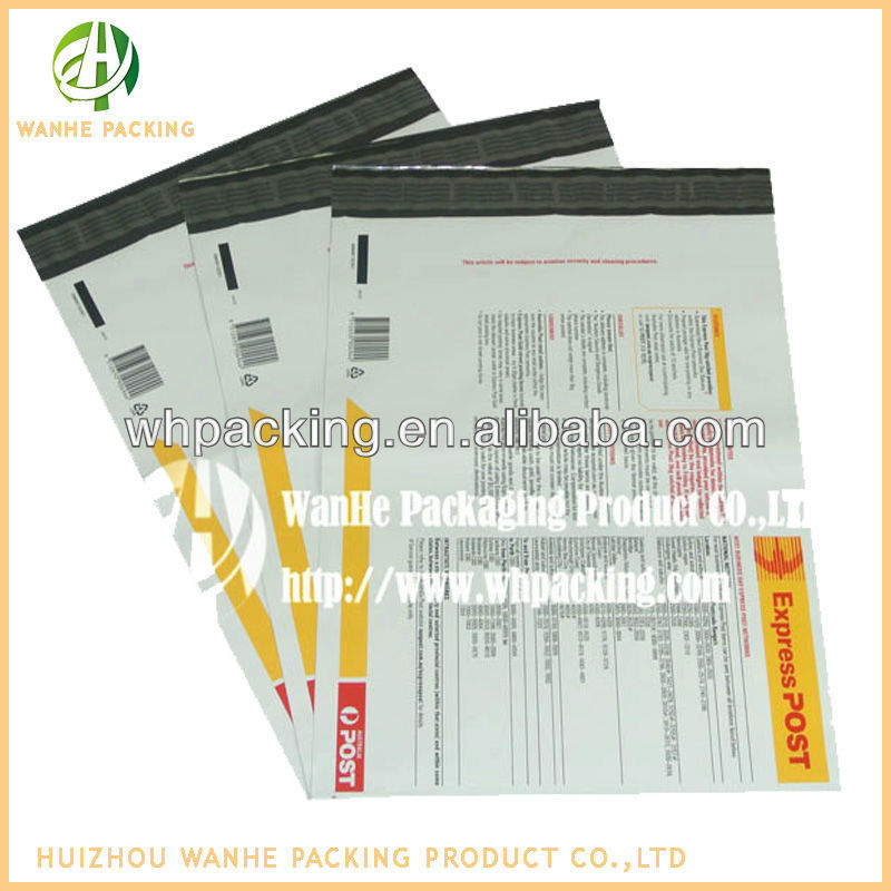 wholesale documents enclosed carrier plastic bag