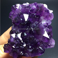 Top Quality Natural Beautiful Unique Amethyst Quartz Crystal Cluster