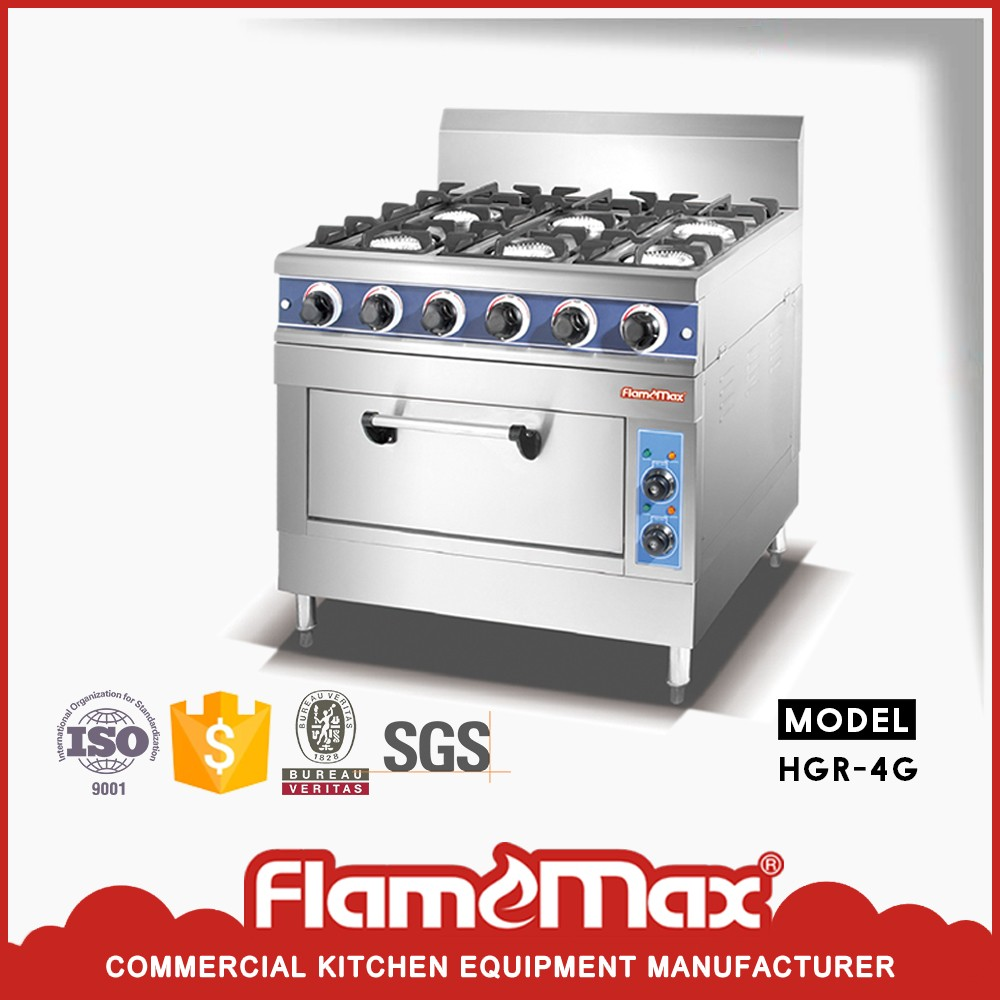 Heavy Duty Cooking Equipment Gas Range/commercial Hotel 4 Burners ...