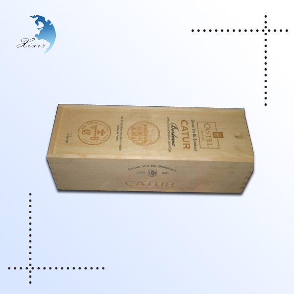 New Product 2017 vintage wine crate With Certificate