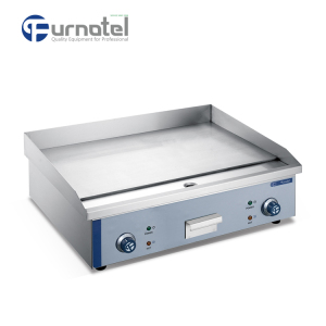 Commercial Restaurant Industrial Stainless Steel Induction Electric Griddle