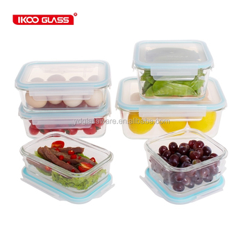 Ikoo Food Storage Container 3 Size SetLeak ProofAir Tight Seal