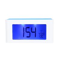 Wireless Inductive Speaker Sound Box FM Radio Digital Clock Alarm for iPhone Samsung Smartphone