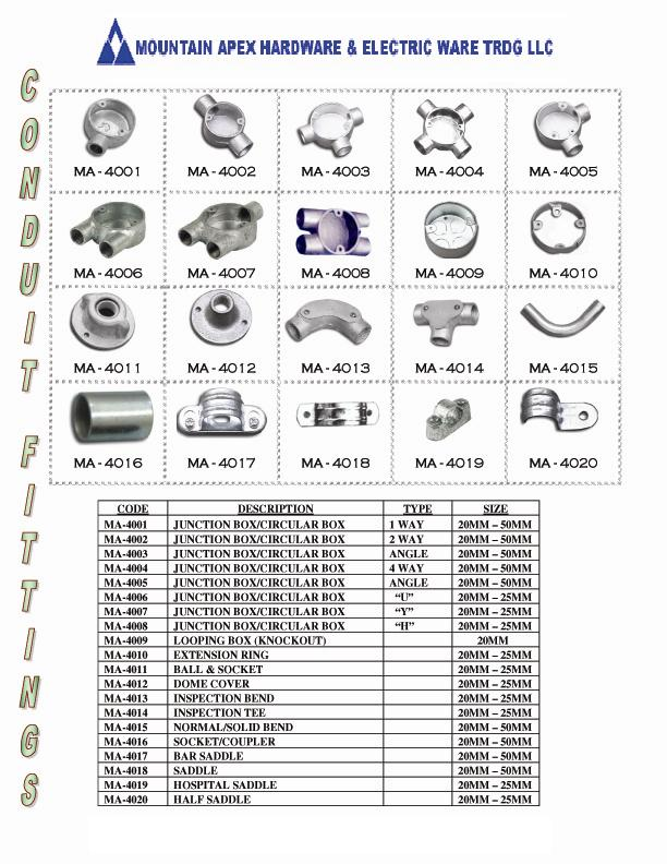 g i conduit accessories buy conduit accessories product on rh alibaba com Surface Mount Electrical Wiring pvc conduit wiring accessories