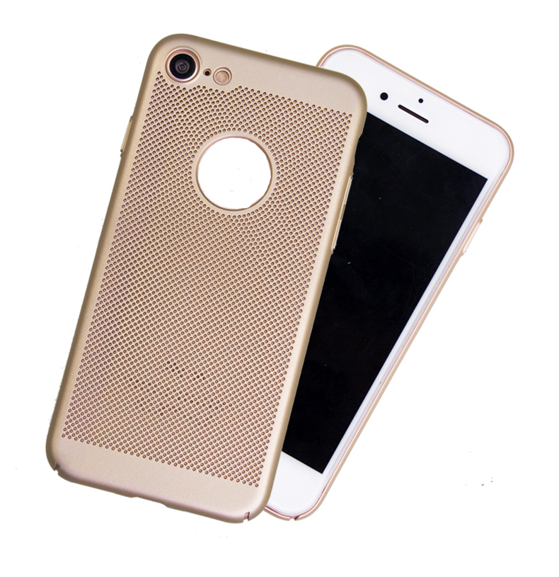 Hot sell Heat dissipation Pinhole Ventilation anti-scratch PC phone case for SAM note 7
