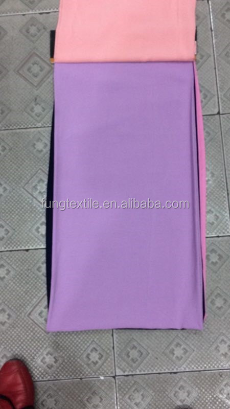 Fung Rayon Cotton Solid Design Material In Violet Color