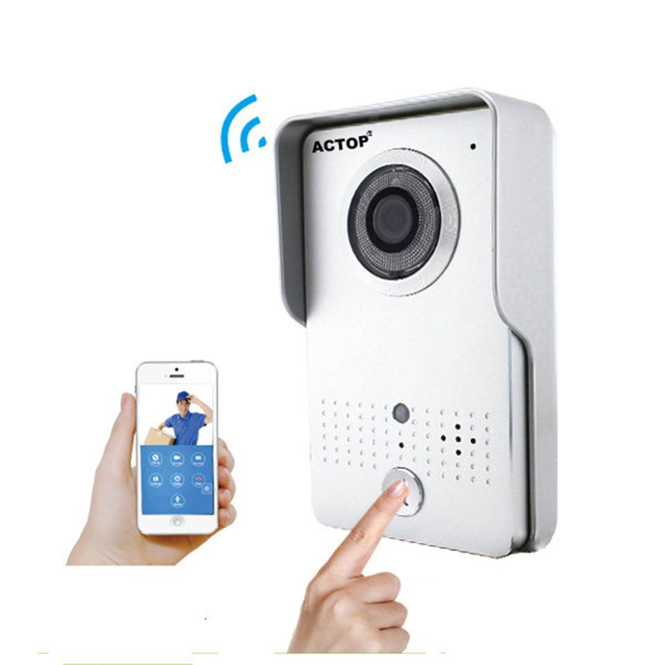Wifi Wireless Magnetic Lock Rfid Video Door Phone Intercom