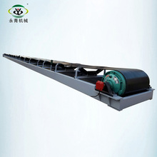 flat telescopic manure hopper belt conveyor