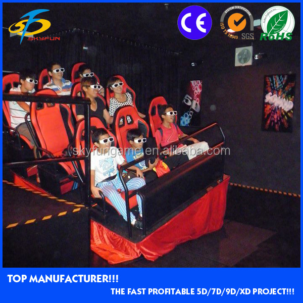 9d cinem/Easy installation 7d theater 5d cinema 9d cinema kino simulator install in amusement park
