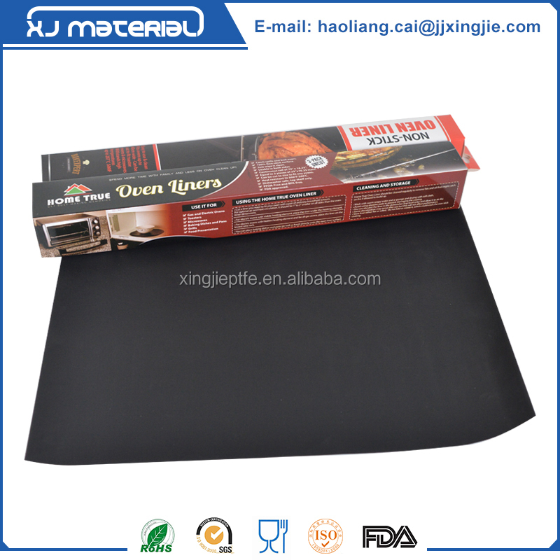 Non stick reusable ptfe oven liner