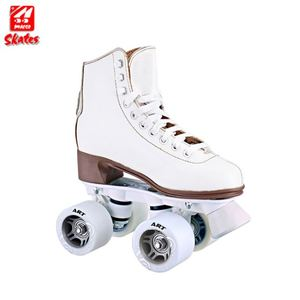 China Oem Cold Resistant PVC Upper Steel Blade Figure Skate Ice Skating Shoes For Girl
