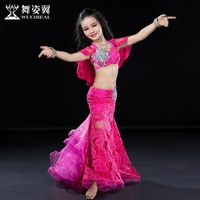 Wuchieal Children Belly Dance Costumes for Kids on Sale