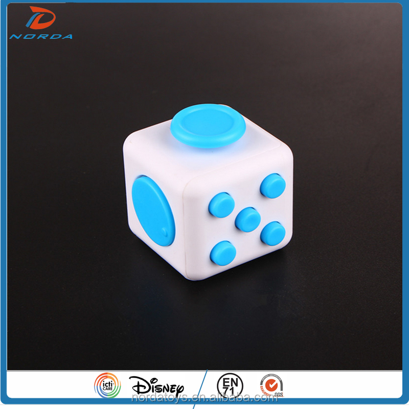 education toys 2017 news disign 6 sides fidget cube stress relax toys