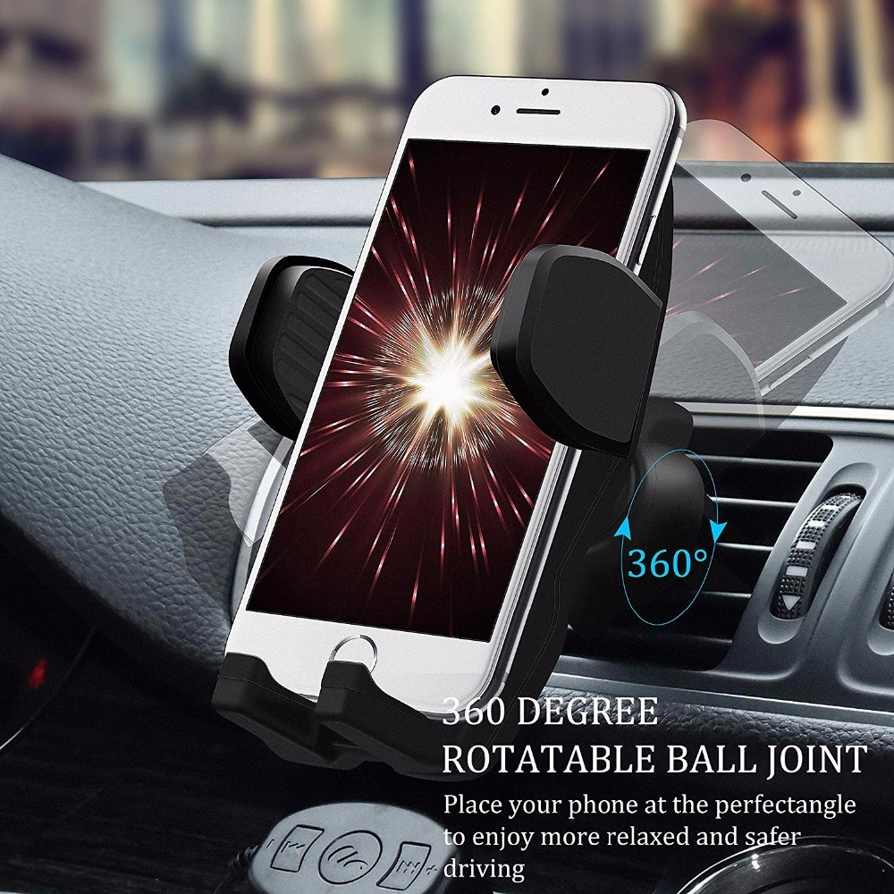 Phone accessories  universal smartphone car air vent mount holder cradle car air vent  cell phone  holder  for smartphone