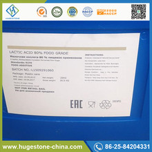 China Natural Food Grade Lactic Acid