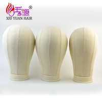 High Quality Canvas Block Head training mannequin head without hair for wig display