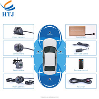 360 Degree Bird View Driving Assist Car Security Camera System
