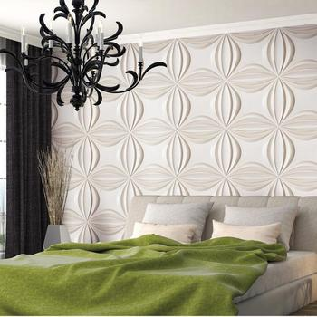 Faux leather wall panels interior wall paneling for living room/kitchen