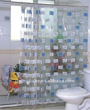 PVC Transparent Shower Curtain Liner