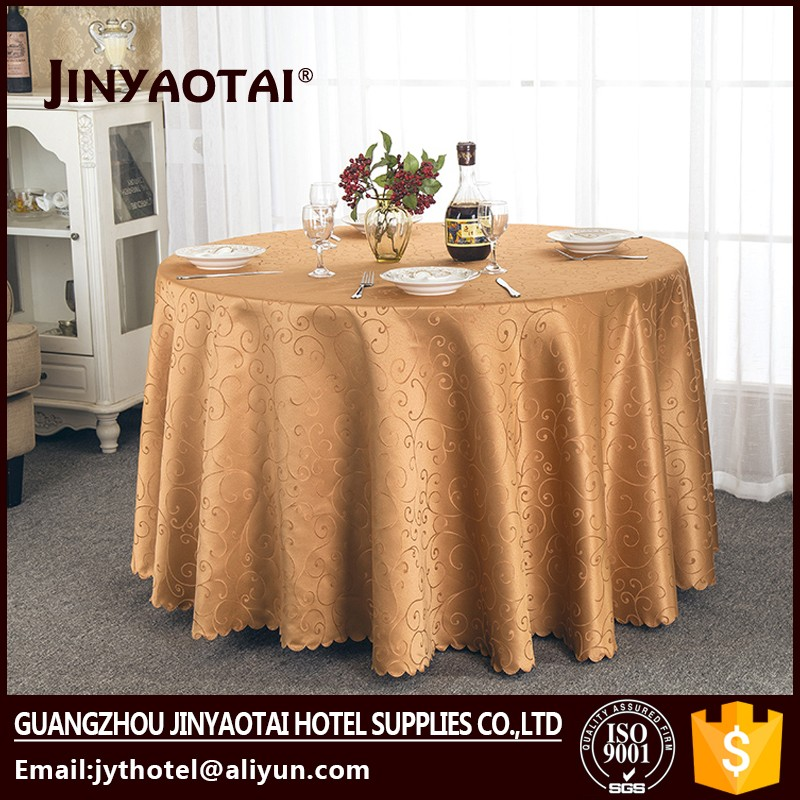 Damask Fabric Guangzhou square professional supply adhesive table cloth