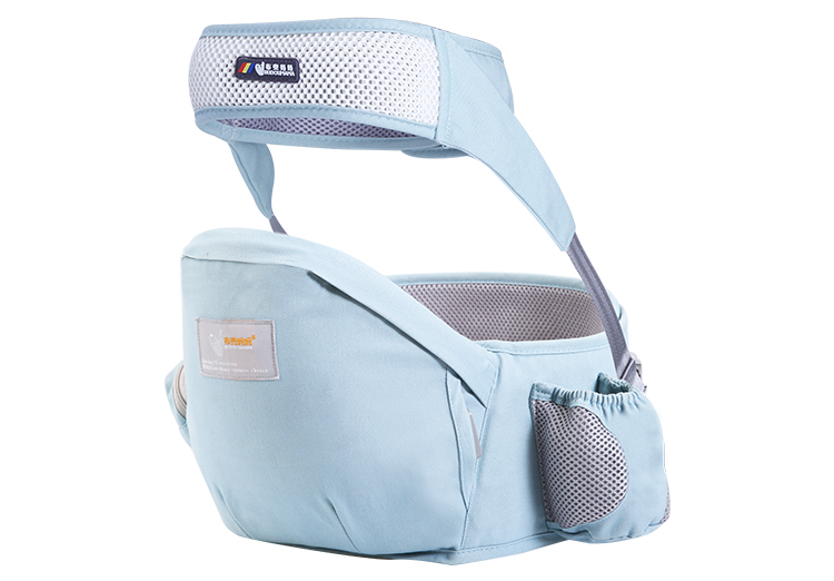 Toddler waist baby seat hip belt carrier convenient for front seat