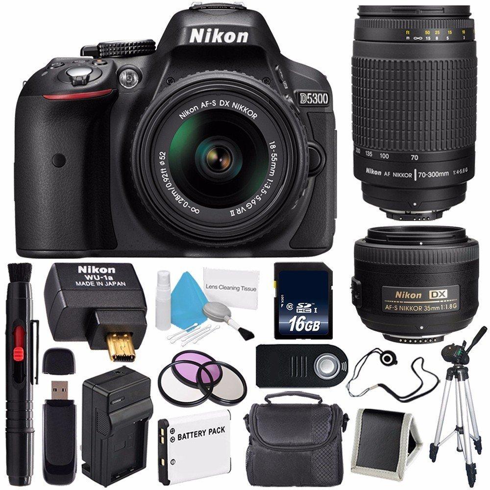 Cheap Nikon 35mm Digital Find Deals On Line At Kamera Dslr D5300 Lensa Kit Af S 18 55mm Vr Ii Get Quotations Camera W 55 Lens International Model No