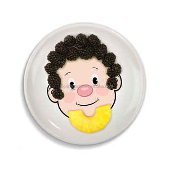 OEM cartoon Ceramic Food Face Plate Factory Direct Food Face Kid\u0027s Dinner Plate kids Dishes  sc 1 st  Xiamen Toplink Craft Co. Ltd. - Alibaba : dinner plates for kids - pezcame.com