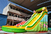 giant inflatable floating water slide prices, spongebob inflatable water slide,